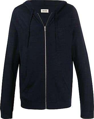 Zadig & Voltaire USA zip-up hoodie - Blue