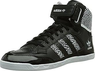 7d8c8b0ad30843 adidas Originals Damen Centenia Hi High-Top Schwarz White Core Black)