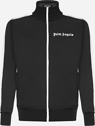 Palm Angels Felpa con zip e logo - PALM ANGELS - uomo