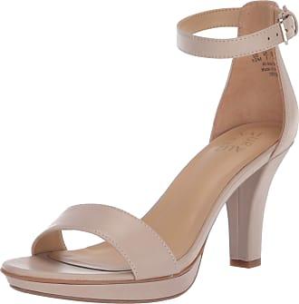 Naturalizer womens G1949S1 Dessa Heeled Sandals Grey Size: 5 UK