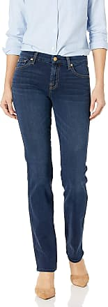 7 For All Mankind Womens Jeans Kimmie Straight Leg Pant, Dark Moonlight Bay, 27W