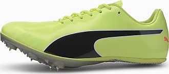 Puma Womens PUMA Evospeed Sprint 10 Track & Field Boots, Fizzy Yellow/Black, size 3.5, Shoes