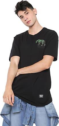 Grizzly Camiseta Grizzly Fontaine Preta