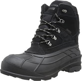 kamik Mens Fargo Snow Boot, Black, 11 UK 45 EU