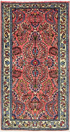 Nain Trading 118x61 Tappeto Saruk Corridore Grigio Scuro/Marrone Scuro (Lana, Persia/Iran, Annodato a mano)