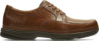 Clarks Swift Mile Mens Casual Shoes 9.5 Mahogany