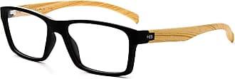 HB Óculos de Grau Hb 93130/53 Preto/madeira