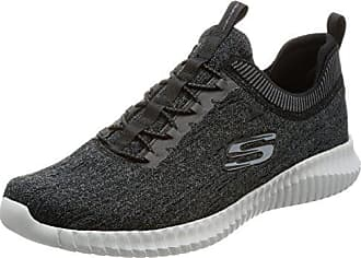 100% authentic e01ec 7b4ec Skechers Elite Flex-Hartnell, Baskets Enfiler Homme, Noir (Black Grey)