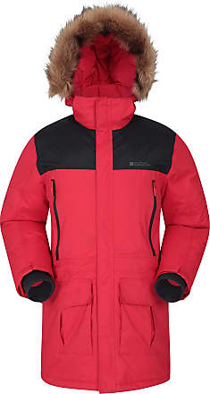 Mountain Warehouse Antarctic Extreme Down Mens Jacket - Adjustable Waist, Waterproof Rain Coat, Quick Drying & Breathable Winter Coat - Ideal for Travelling, Outdoors Da