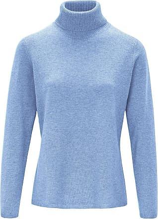 include Rollkragen-Pullover include blau
