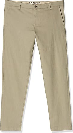 Dockers Mens Smart 360 Flex Chino Tapered Trouser, Grey (Doyle Earth Moss 0021), W38/L32 (Size: 38 32)