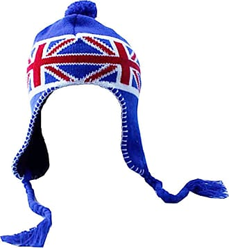 Accessoryo 58cm Coloured Gingham Trapper Hat