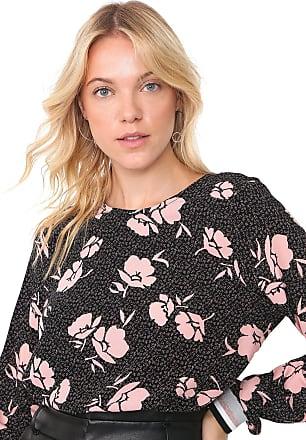 Vero Moda Blusa Vero Moda Floral Preta