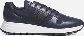 Prada Leather and nylon sneakers - PRADA - man