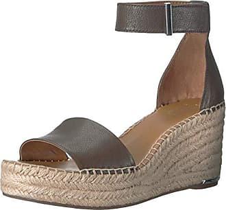 Franco Sarto Womens Clemens Espadrille Wedge Sandal Olive 8 M US