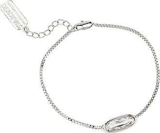 Peter Hahn Bracelet a crystal by Swarovski mayfair by Peter Hahn silver