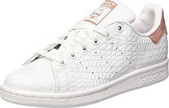 on sale 98798 49df4 adidas Damen Stan Smith W Laufschuhe Mehrfarbig FTWR Whiteraw Pink F15, 36  EU
