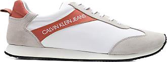 Calvin Klein TÊNIS MASCULINO JOGGING BICOLOR - CINZA