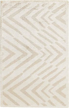 Nain Trading 89x61 Design Gabbeh Edel Line Rug Beige (Indien, Bamboo Silk, Hand-Knotted)