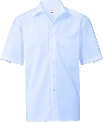 Olymp Shirt Modern Fit Olymp Luxor blue