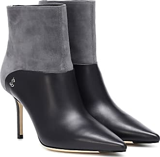 Jimmy Choo London Beyla 85 leather ankle boots
