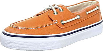 Sperry Top-Sider Sperry Bahama 2-Eye Canvas 0540716, Mens Sneakers Orange Size: 8 UK