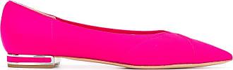 Casadei pointed toe ballerinas - PINK