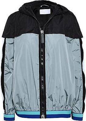 No Ka'Oi No Ka oi Woman Shell Hooded Track Jacket Gray Size 00