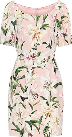Dolce & Gabbana Floral stretch-crêpe dress