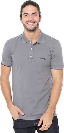 Wrangler Camisa Polo Wrangler Logo Cinza