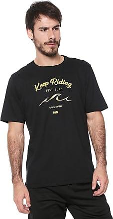 Wave Giant Camiseta WG Riding Preta