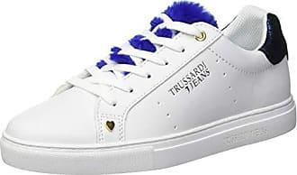 2577114e8785 Trussardi Sneakers Lapin Fur Tongue, Scarpe da Ginnastica Donna, Blu  (Overseas) U240