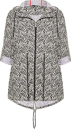 Yours Clothing Clothing Womens Plus Size Animal Print Parka Coat Size 22-24 Nude
