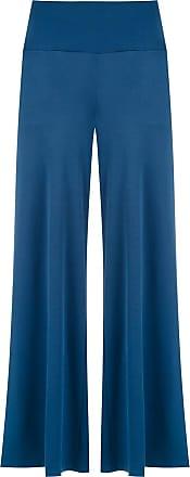 Alcaçuz Calça Lastro pantalona - Azul