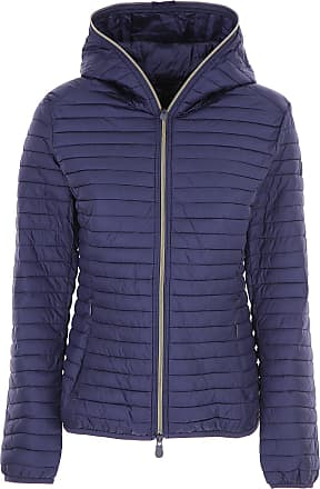 Save The Duck Jacket for Women, Dark Blue, polyester, 2017, 4 6 8