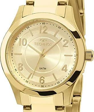 Technos Relógio Feminino Technos Analógico 2035Mft/4X Dourado
