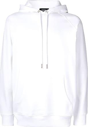 Diesel plain hoodie - White