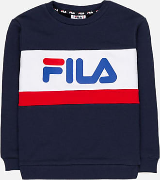 FILA Barn Genser Tarcon Blocked BlackLight Gey Melange