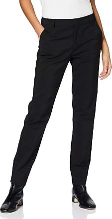 Vero Moda Womens Vmleah Mr Classic Pant Noos Trouser, Black, W22/L32 (Size: Small)
