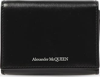 Alexander McQueen Leather Wallet Mens Black