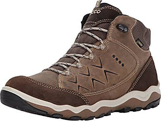 e6bd3eb5dba6 Ecco Womens Ulterra High Gore-Tex Hiking Boot Birch Navajo Brown 42 EU