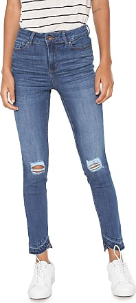 Vero Moda Calça Jeans Vero Moda Skinny Destroyed Azul