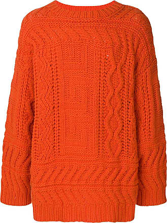 Études Studio chunky ribbed sweater - Orange