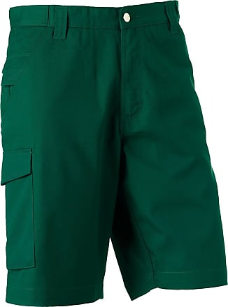 Russell Athletic Russell Polycotton Twill Shorts Bottle Green 30