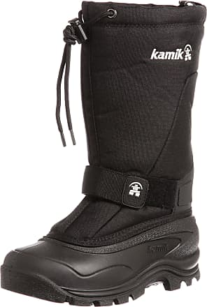 kamik Womens Greenbay4 Snow Boots, (Black-Noir), 6 UK