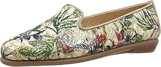Aerosoles Womens Betunia Slip-On Loafer, Gold, 7 W US