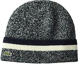 edcccfd538d98 Lacoste Mens Made in France Wool 1x1 Double Fil Beanie