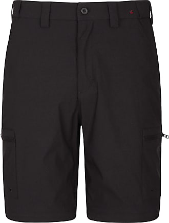 Mountain Warehouse Trek Stretch Mens Shorts - Fast Drying Cargo Shorts, Lightweight Winter Shorts, Adjustable Fit Casual Short Pants, Stretchable - for Hiking, Camping B