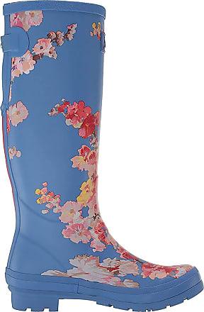 Joules Womens Welly Print Wellington Boots, Blue (Blue Floral Bluflrl), 3 UK (36 EU)