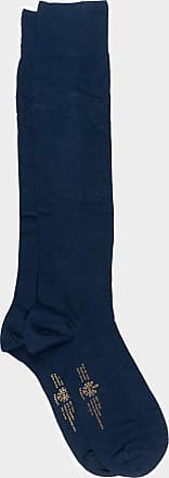 ZD Zero Defects Zero Defects blue soya knee socks